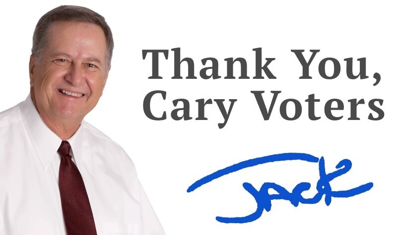 Jack Smith for Cary Town Council