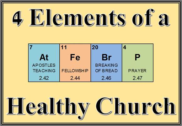 Four Elements of a Healthy Church