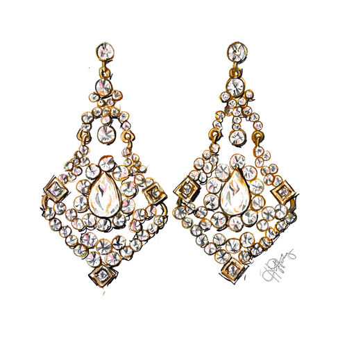 product_chandelier earrings
