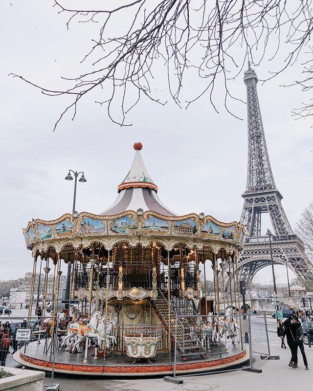 all the carousels #katieandkubitzineurope