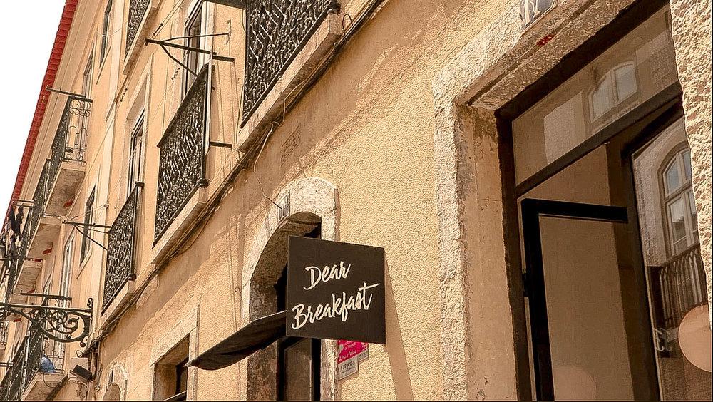 Dear Breakfast - our #1 breakfast choice in Lisbon