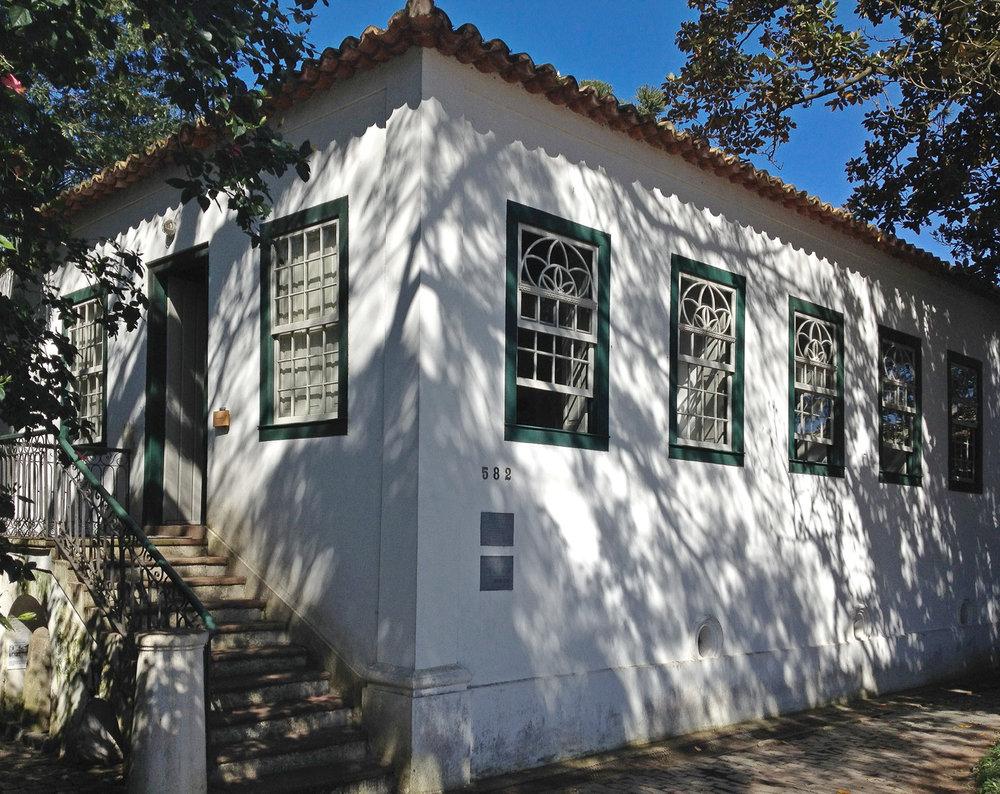 Solar Lopo Gonçalves, construído entre 1845 e 1855, abriga hoje o Museu de Porto Alegre José Joaquim Felizardo (Imagem/Divulgação)