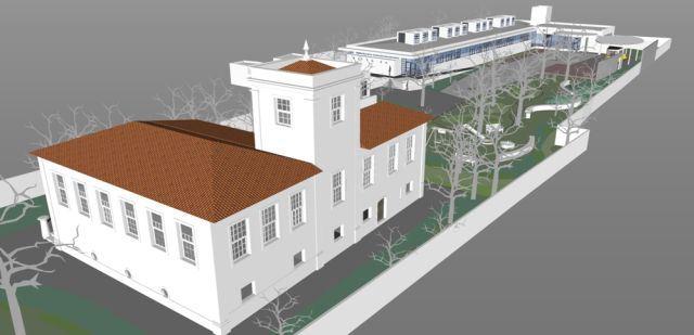 Projeto para a construção de anexo nos fundos do terreno (Imagem/Divulgação)