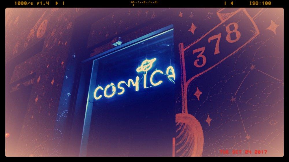 O Cósmica Bar abriu suas portas em outubro, na Rua Lopo Gonçalves (Fotos/Divulgação)