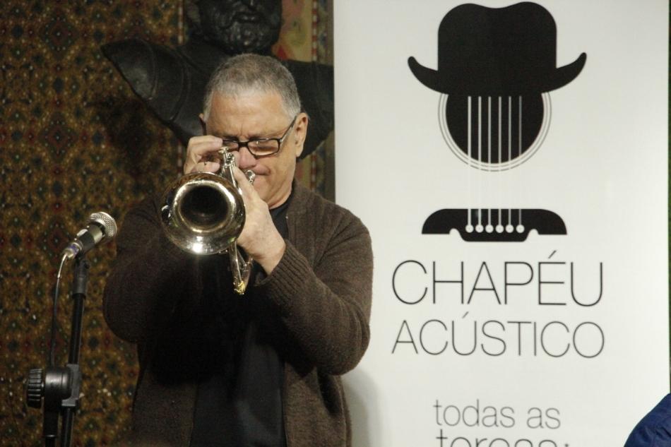 O trompetista Luiz Fernando Rocha é um dos artistas que participa do projeto (Fotos Marcos Monteiro/Divulgação)
