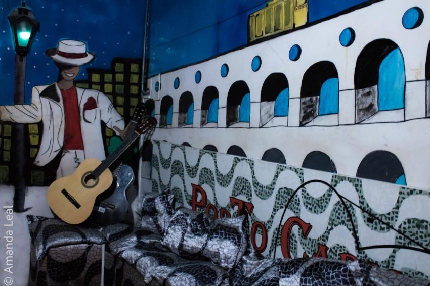 Arcos da Lapa: um dos destaque da decoração inspirada em personagens e espaços famosos do Rio de Janeiro