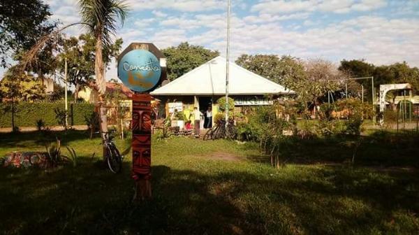 Sede do Coletivo Conceito Arte, na Praça Oliveira Rolim, zona norte de Porto Alegre