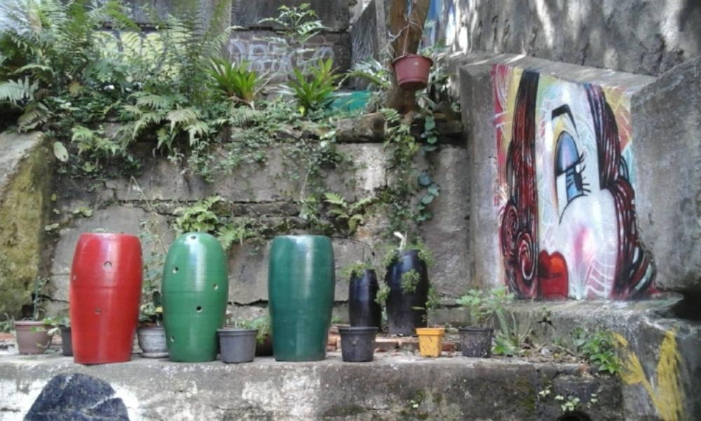 A ação de um grupo de vizinhos viabilizou a Horta Comunitária do Morro da Formiga (Fotos/Divulgação)