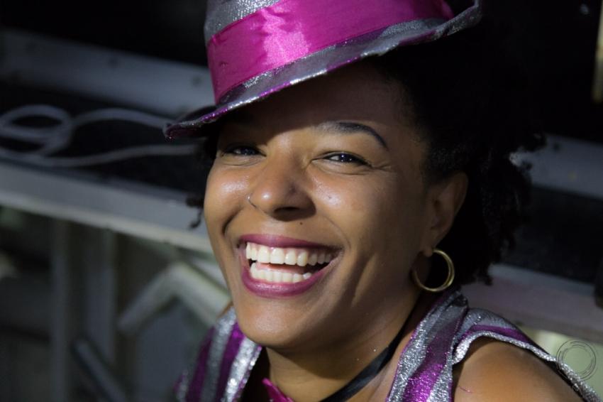 Joicy Gama, dona do Porto Carioca e organizadora do bloco Amigos do Porto (Foto Cassio JP Silva/Divulgação)
