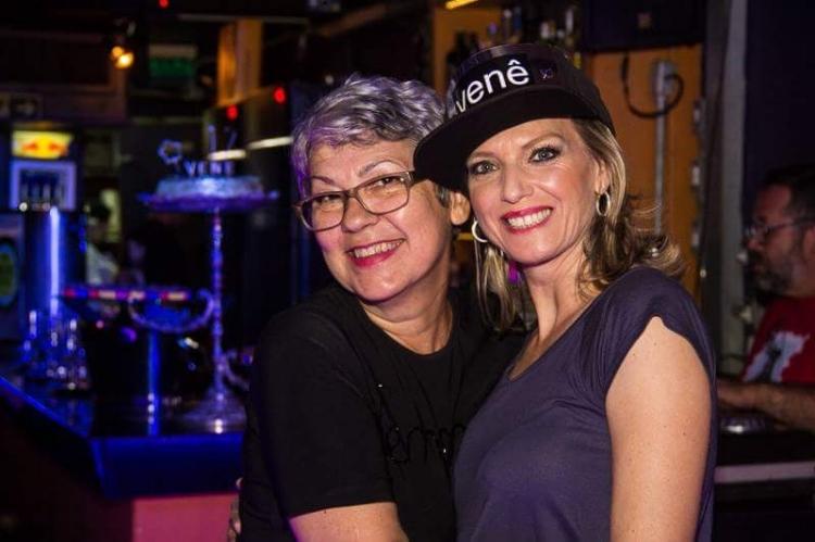 A fundadora Vera Ardais (à esq..) e Clarice Decker, uma das sócias que comanda hoje o Venezianos (Foto/Divulgação)