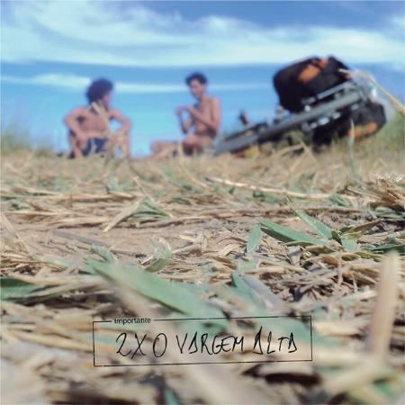 Capa do primeiro disco de Chico, com a banda 2x0 Vargem Alta
