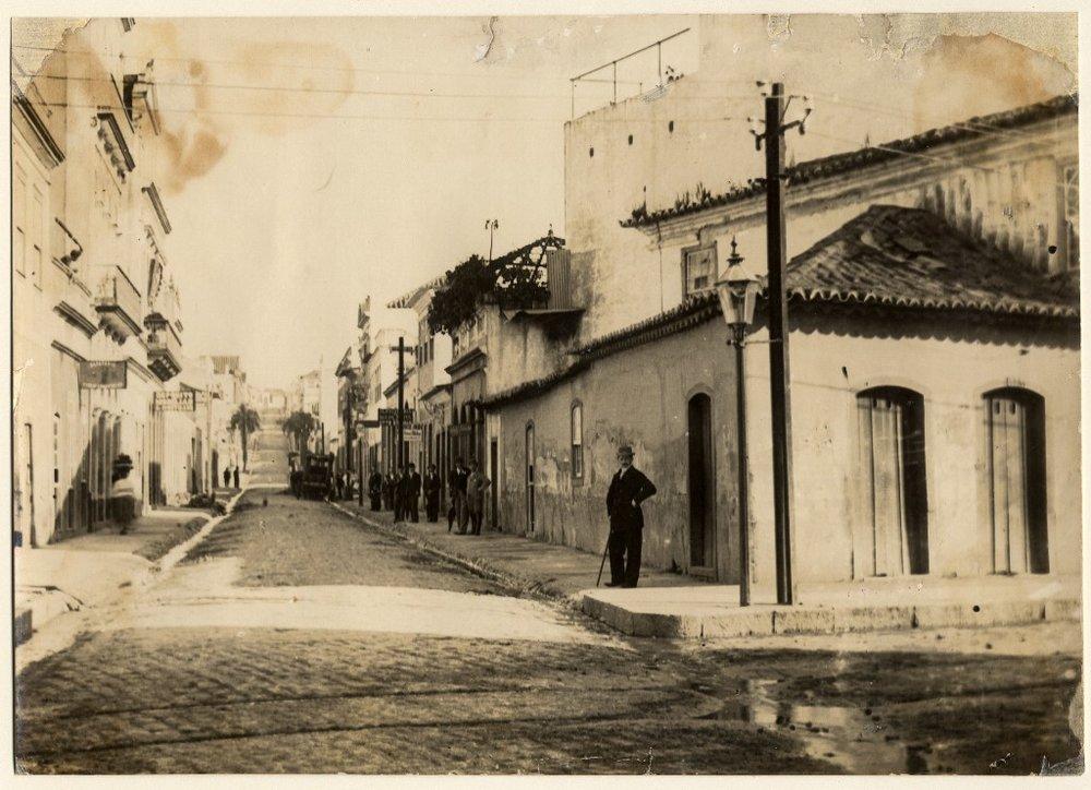Rua da Praia anos 1890 - Copia.JPG