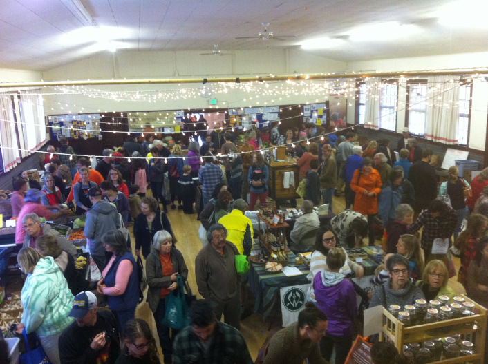 The Rockford Grange Annual Fill Your Pantry Event is a great community based gathering of farmers and merchants to share and sell their bounty.