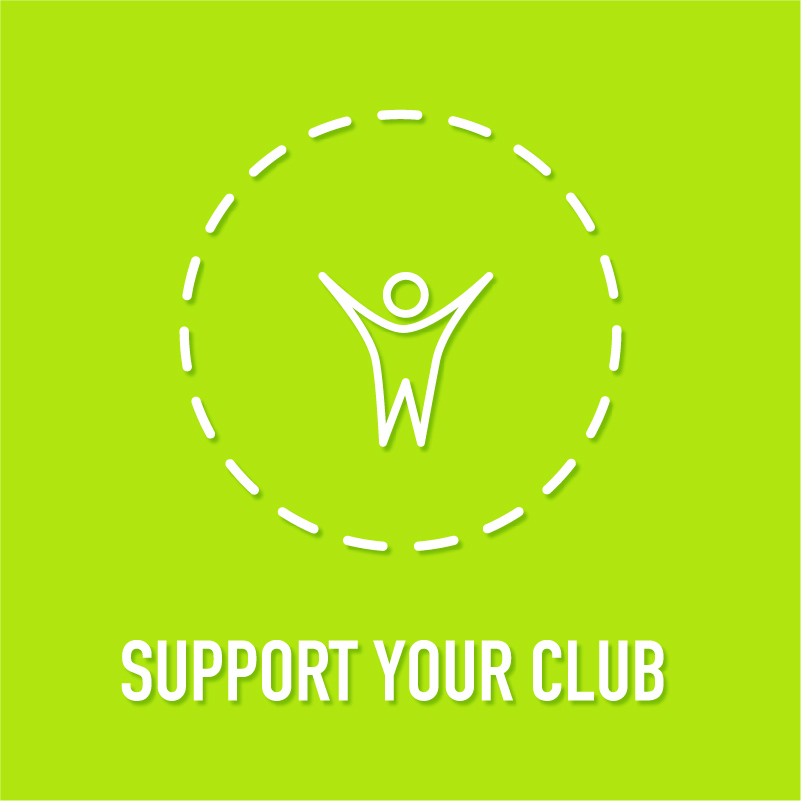 Support your club with 25% of your Day2Day Rewards membership value going directly back to the sporting club of your choice.