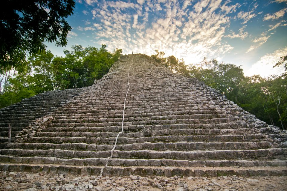 climbing coba - Join us as we tour one of the most beautiful ancient Mayan cities in the Riviera Maya