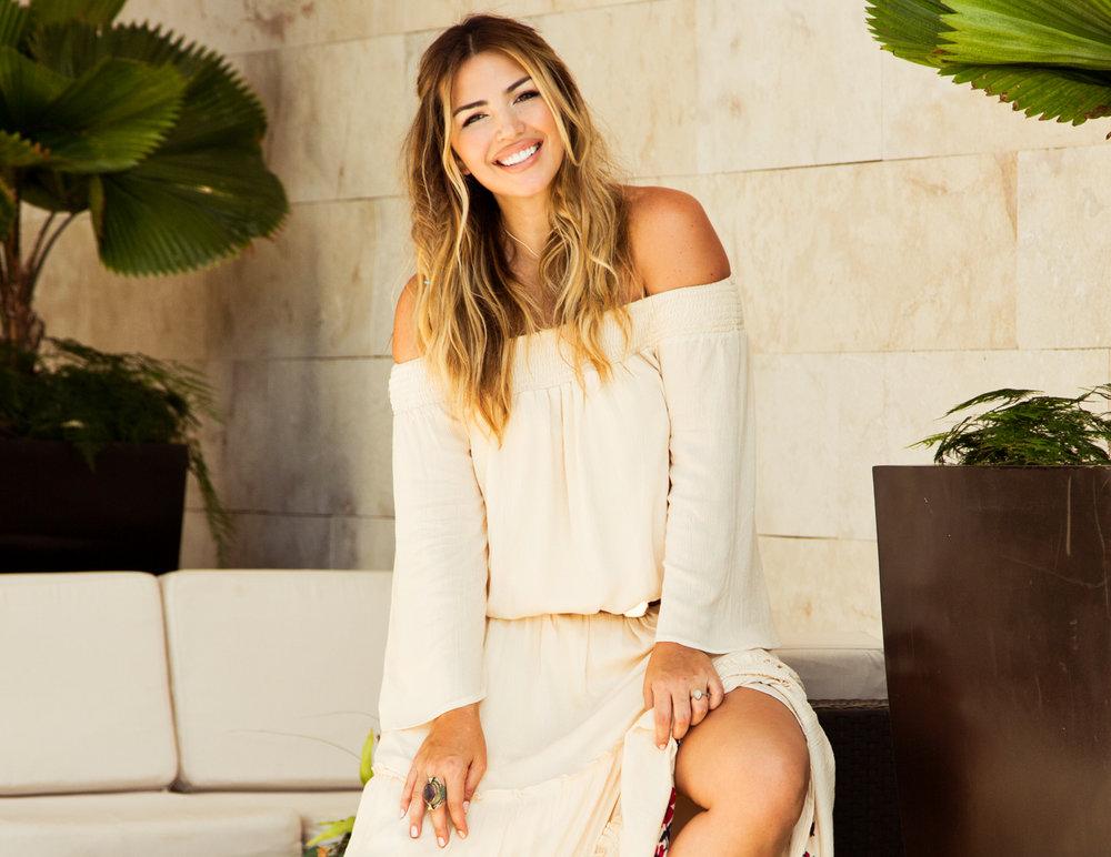 host Katie Willcox -