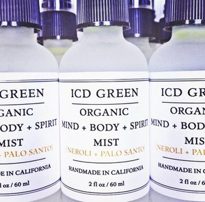 ICD Green Mind, Body, & Soul Mist