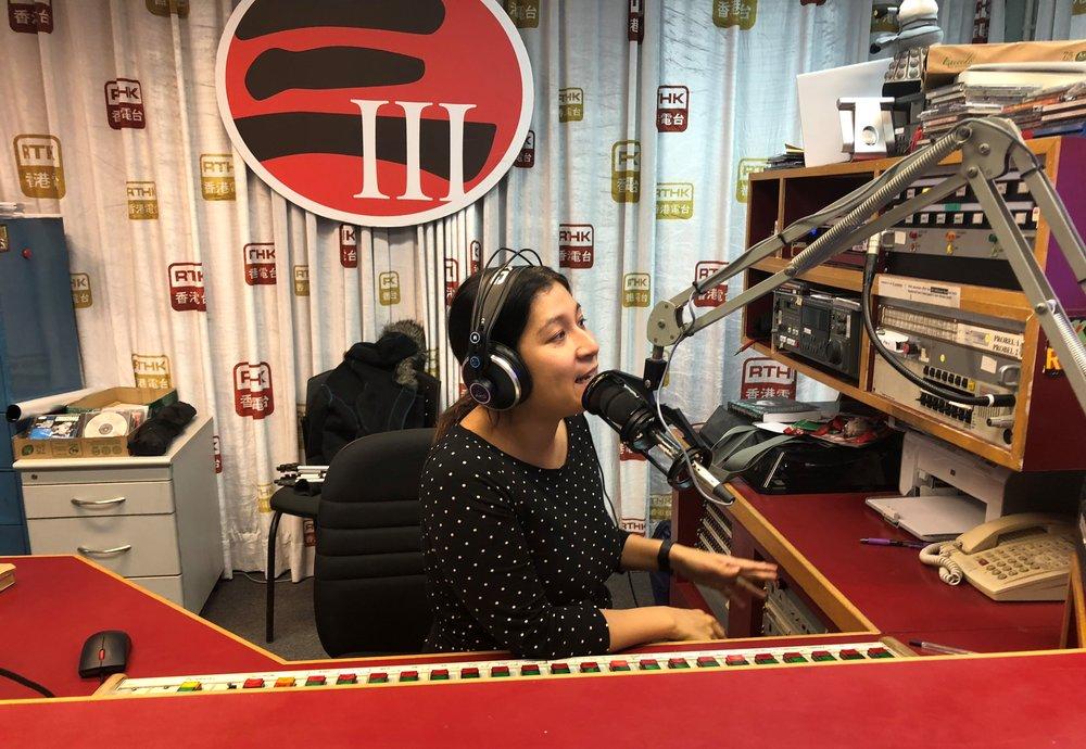 RTHK radio interview, November 2018
