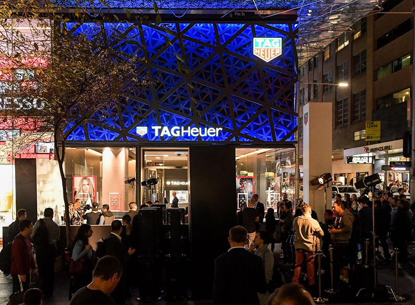 TAG Heuer Flagship Store - Sydney
