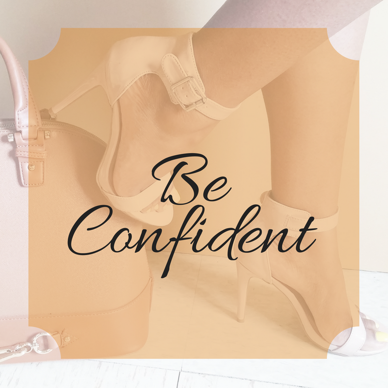 Shop, Join a Class, Learn About Confidence