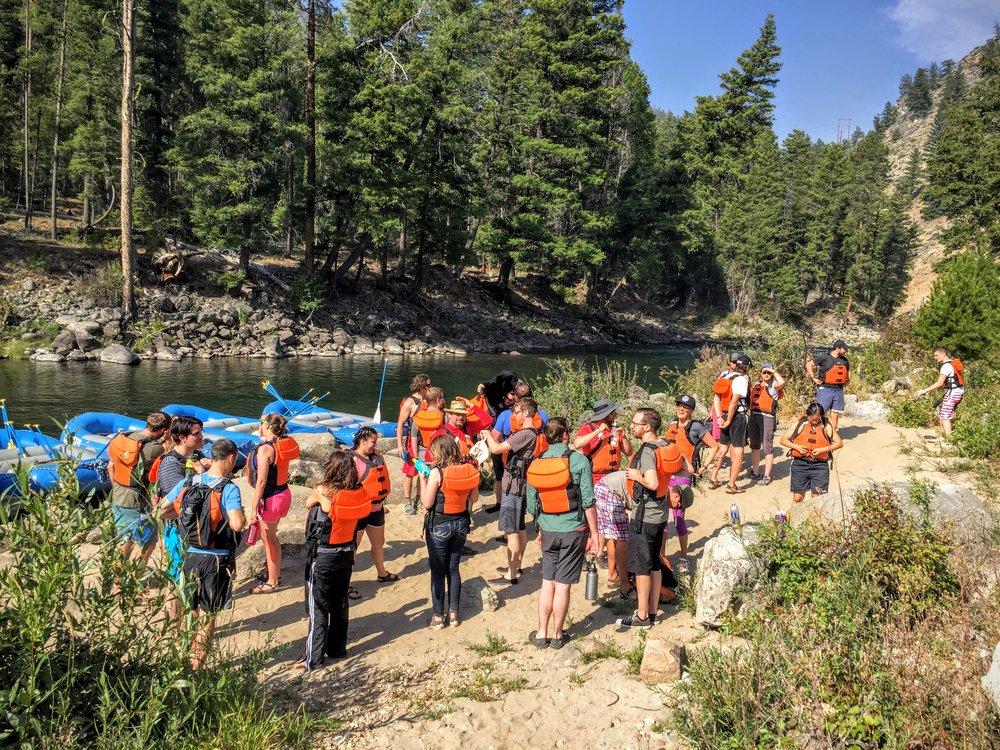 Prior Rails Camp West off-site excursion