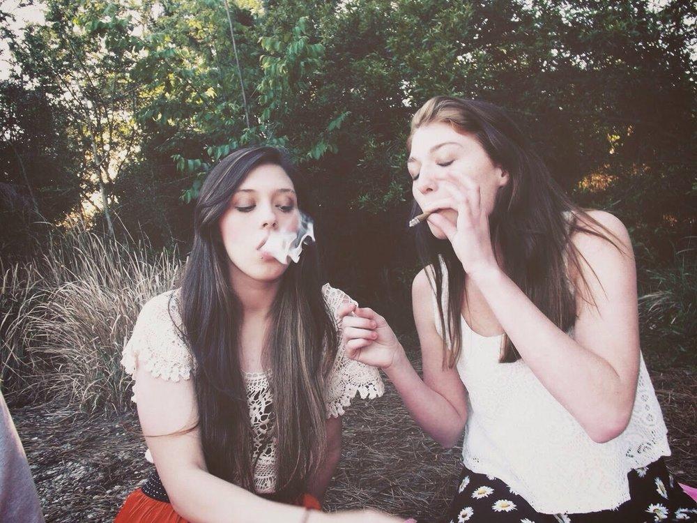 - Hey bud, let get high.
