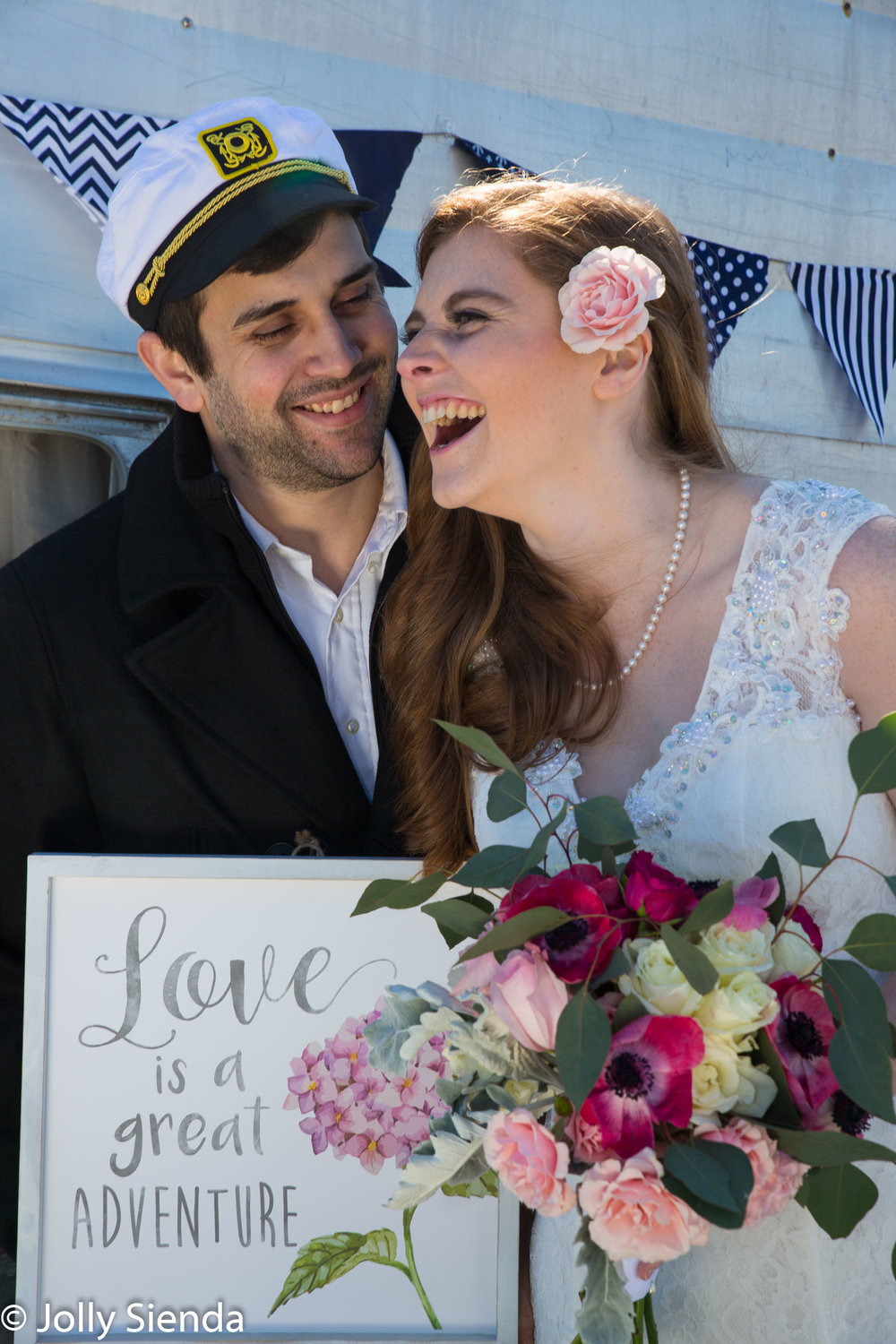 Love is a great adverture wedding photography for the wedding co