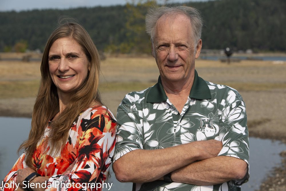 Cathy Darlington Graham and Ron Jenson, Business portrait photog