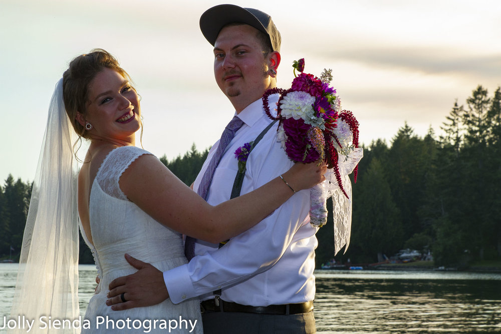 Maurean Grogan and Dan Dimmen, wedding photographs