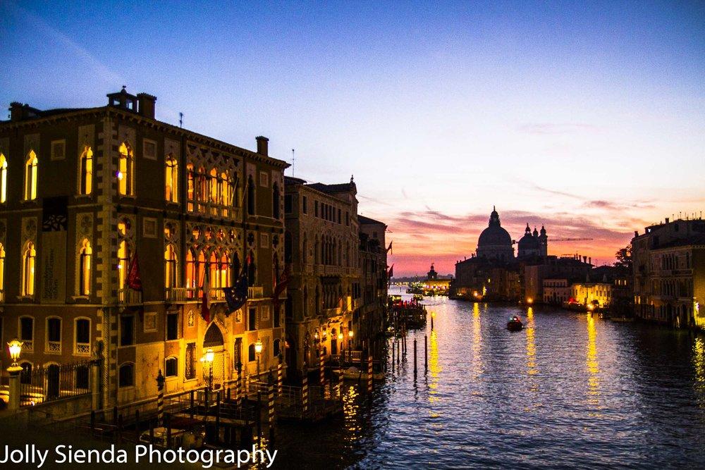 Sunrise on the Grand Canal Santa Maria Della Salute