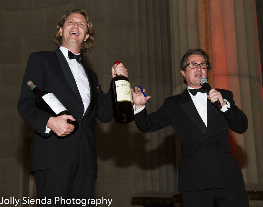 Jim Ritchie, Heart's Delight Wine Auction