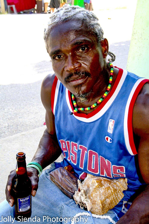 Pistons Fan, Black Man, Portrait photographer,