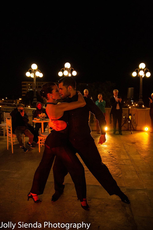 Argentine tango dancers