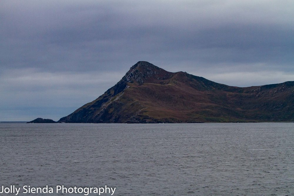 Sailing around the Cape Horn