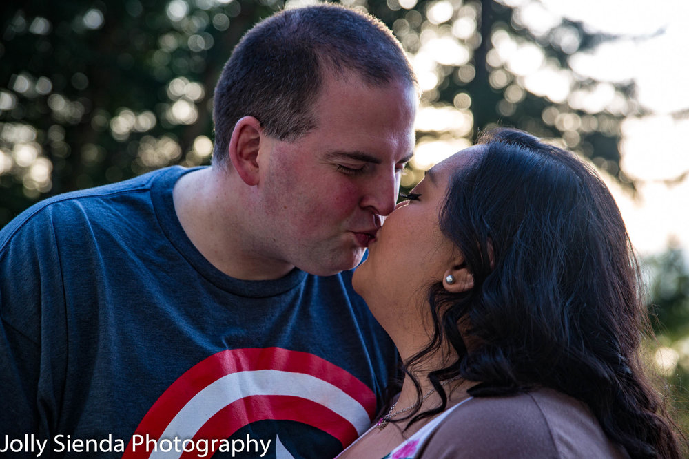 Nieves and Chad Wright engagement photography session in Bremerton, Washington. Nieves and Chad were married September 2016 at Island Lake Park in Poulsbo, Washington.