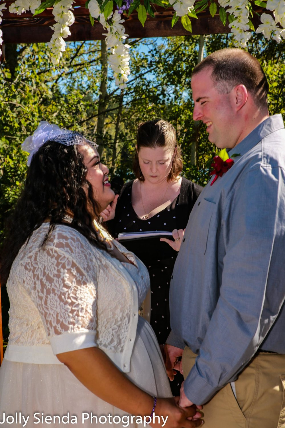 Nieves and Chad Wright Wedding, Kitsap County wedding photograph