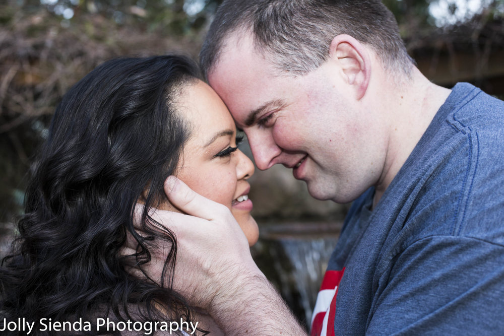 Nieves and Chad Wright, engagement photography session, Bremerton, Washington