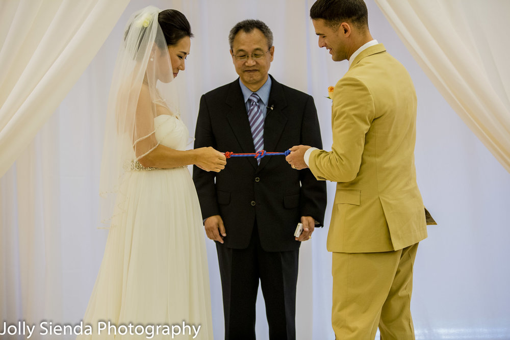 Tie the knot at your wedding!