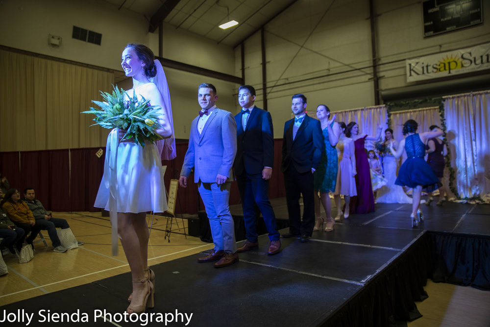 Kitsap Wedding Expo 2019 Wedding Fashion Show Parade