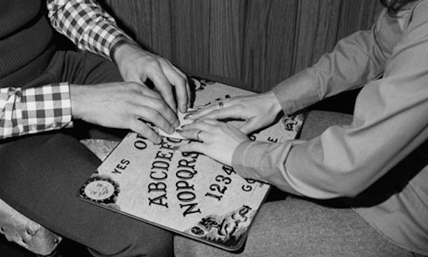 classic 1970's ouija photo from unknown source