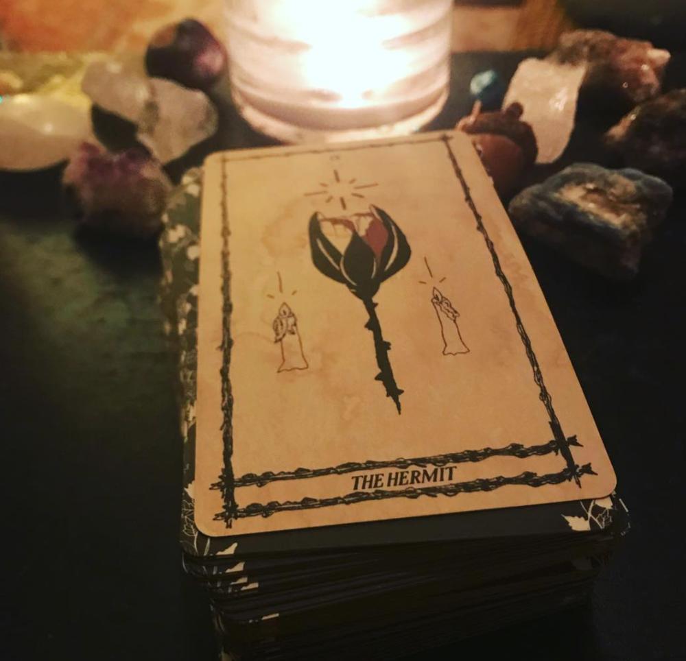 The Hermit by Kelli | @spellsisters on Instagram