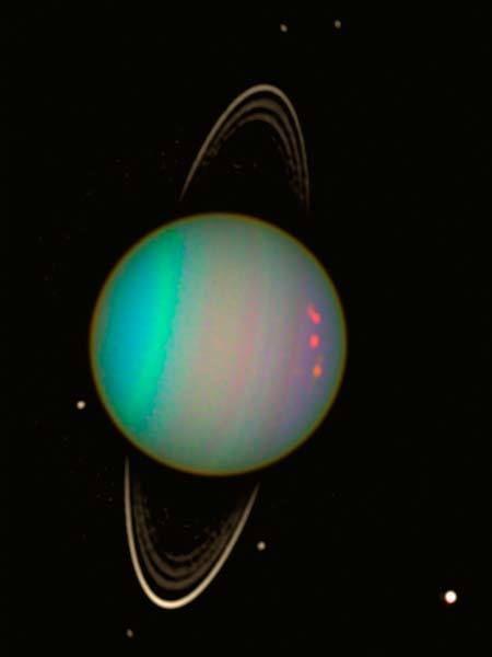 Uranus | Photo via Hubble Space Telescop
