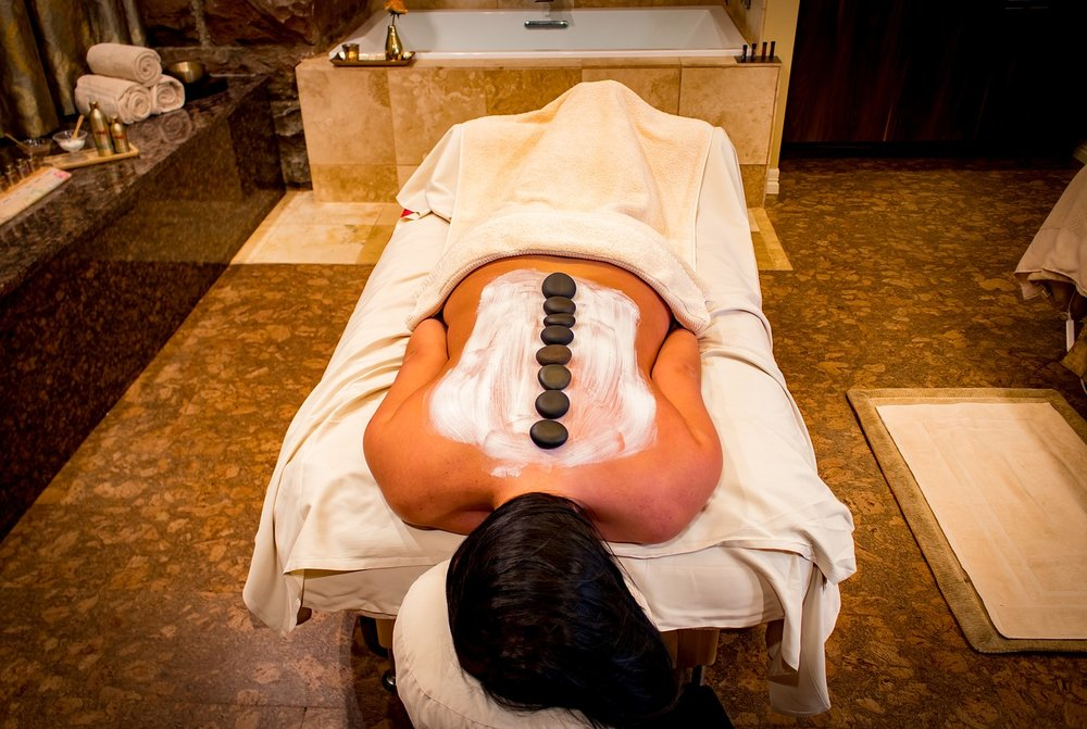 Hot Stone Massage - A Hot Stone massage offers some relaxing time for your mind and does wonders in releasing muscular tension. Relieve stress, improves health problems such as Arthritis, Fibromyalgia, and Hypertension.