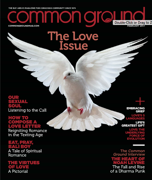 This essay was published in the February 2017 issue of  Common Ground  magazine.