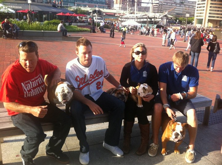 Tillman the skate boarding dog meets Tillman the Baltimore pitcher..jpeg