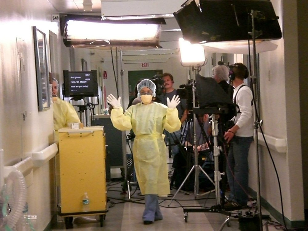 Medical Training-New West Productions Producer  Shot at Long Beach Community Hospital