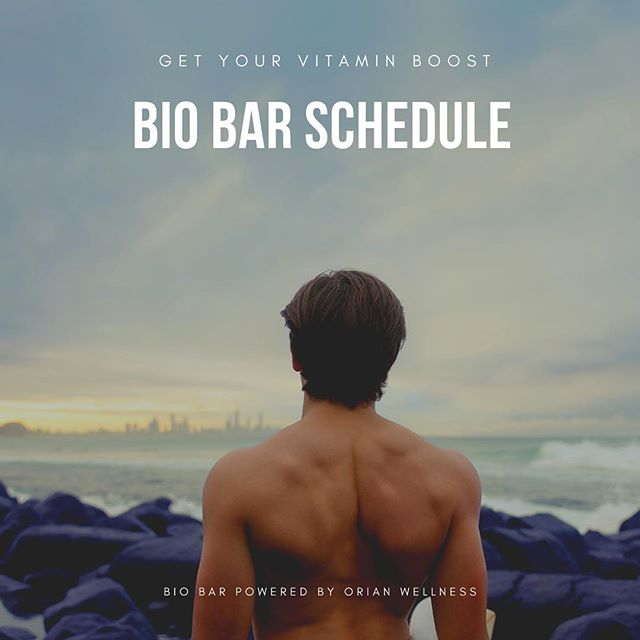 Thursday 1:00-6:00 Urban Skincare  Saturday 9:30-4:00 Healing Therapies Sunday 9:30-3:30 Chill N Out  #biobarpoweredbyorianwellness #b12shots #nutrientiv #naturopathicmedicine #naturopathicdoctor #vitaminshots #nutrients #orianwellness #wellness