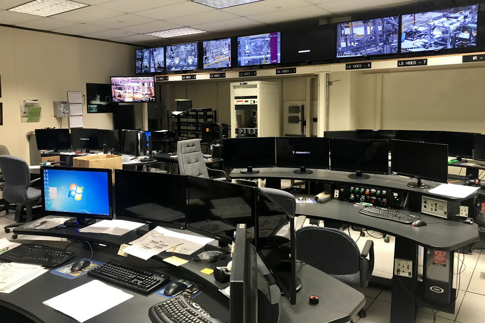 Relativity Space - Control Room at the Test Site at Stennis Space Center