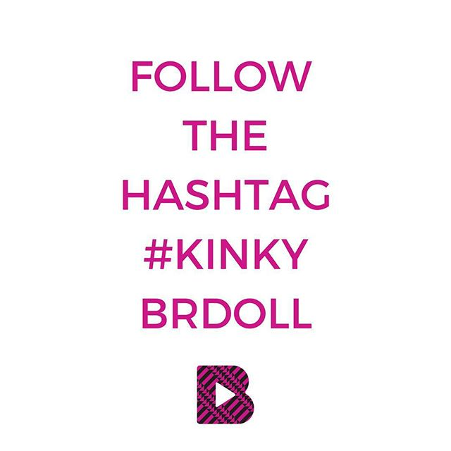 Hey dolls it's all about #naturalhair all week we are so excited! So please follow the hashtag #KinkyBRDoll Are you a natural hair brand? Email us at holla@jointhebeautyrevolution.com so we can highlight your brand this week!