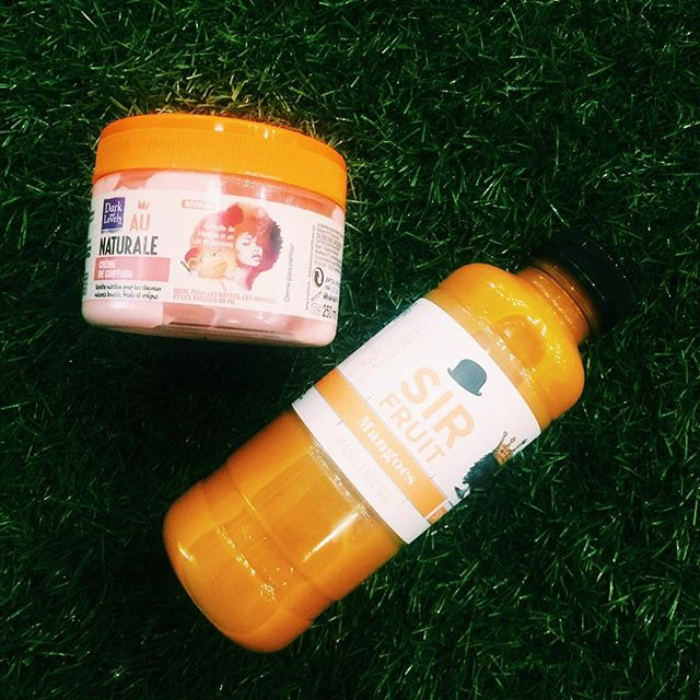 A Queen 👸🏾 and her King 👑  We are obsessed with the @darkandlovelyafrica #aunaturale plaiting pudding cream because it contains mango oil which is good for collagen production and scalp conditioning. #KinkyBRDoll #DarkAndLovelyAfrica